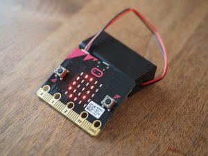 micro:bitと電池BOX