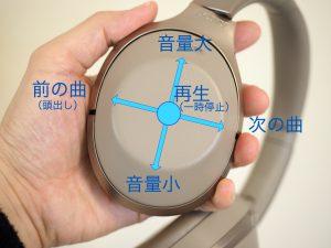 右側のハウジングをタップしたりなぞったりすることで様々な操作が可能。電話がかかってきたらハンズフリー通話もできます。