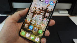 iPhoneXSを持ってみた感じ