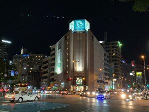 福岡市中央区某所の夜景