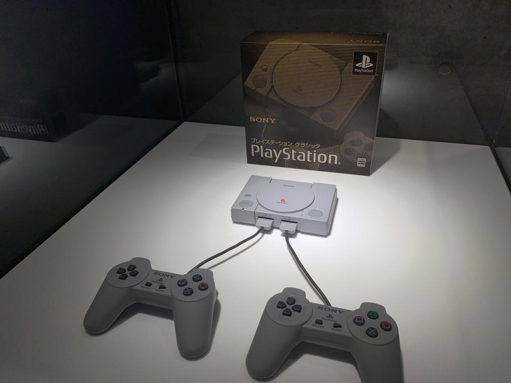 会場に展示されていた「PlayStationクラシック」