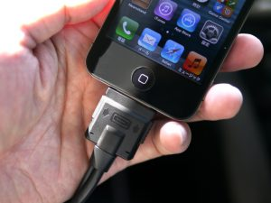 iPhone4接続イメージ