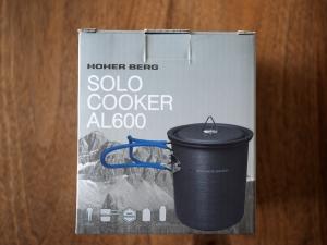 ソロクッカーの外箱。ブランド名はホッハーベルグになってますね。