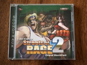 逆輸入盤のサントラ。タイトルは「Streets of RAGE 2」です。