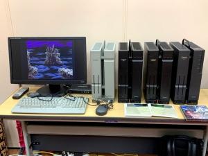 入っていきなり「無印」「ACE」「EXPERT」「XVI」が並んでてビビった。X68000が4台並んでいる姿を見たの、人生初かも。