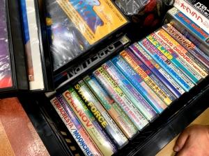 DEMPA MICOMSOFT(電波新聞社)の「ビデオゲーム・アンソロジー」の数々。これだけ揃ってるって、かなり驚異的です。