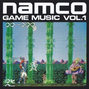 「ナムコ・ゲーム・ミュージック VOL.1」のジャケット