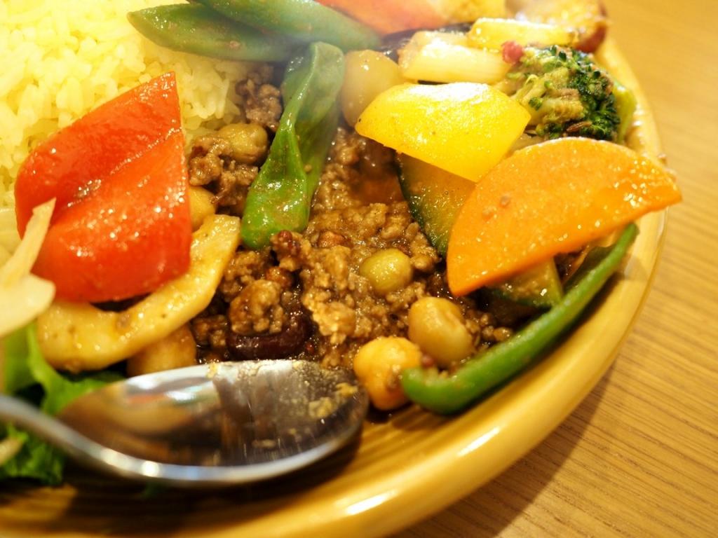 糸島野菜のラムキーマ