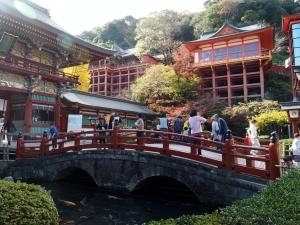 みんな大好き祐徳稲荷神社。タイのドラマでロケ地になったということもあり、外国人観光客も多いみたい。