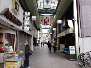 お店は小倉の京町銀天街の西の端にあります。紫川の方。