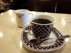 セットで注文したコーヒー。凄くうまい!