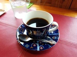 セットのコーヒーも美味しかった!