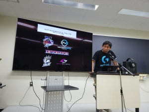 Logicool Gさんのセッションでは主に「PRO」シリーズの紹介。じゃんけん大会の景品は「PRO Xキーボード」でした。私は負けちゃったけどTシャツをいただきました。