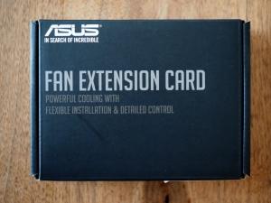 ヤフオクで落札した「FAN EXTENSION CARD」。レアな商品です。