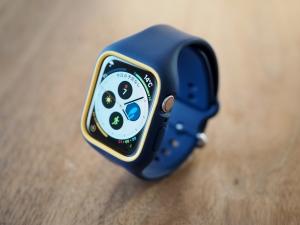 Apple Watchに取り付けたイメージ。なんかオシャレくね?